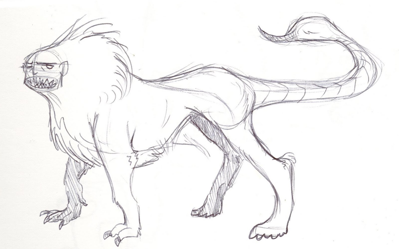 Awesome Mythical Creatures Drawings Jackie Makes Comics Some