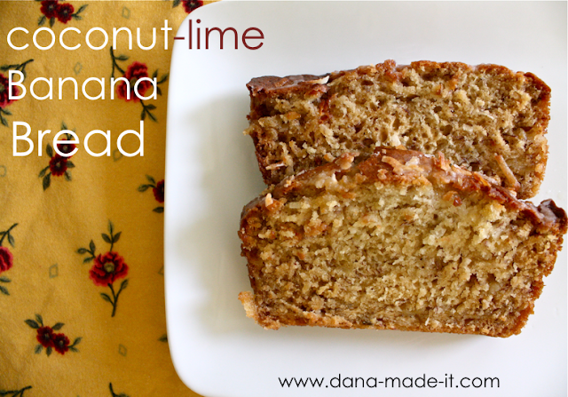 Coconut-Lime Banana Bread – MADE EVERYDAY