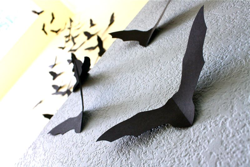 bats decoration - Halloween Bat Decorations