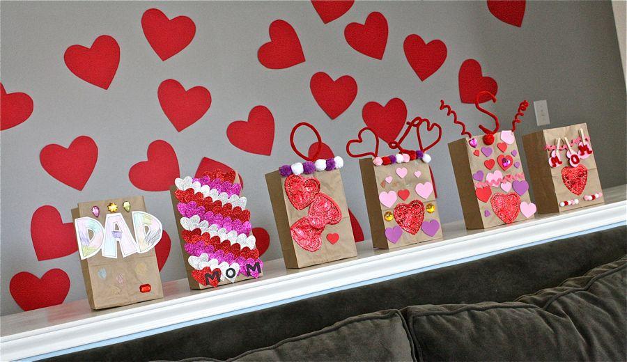 valentine sacks - Valentine Bags For School