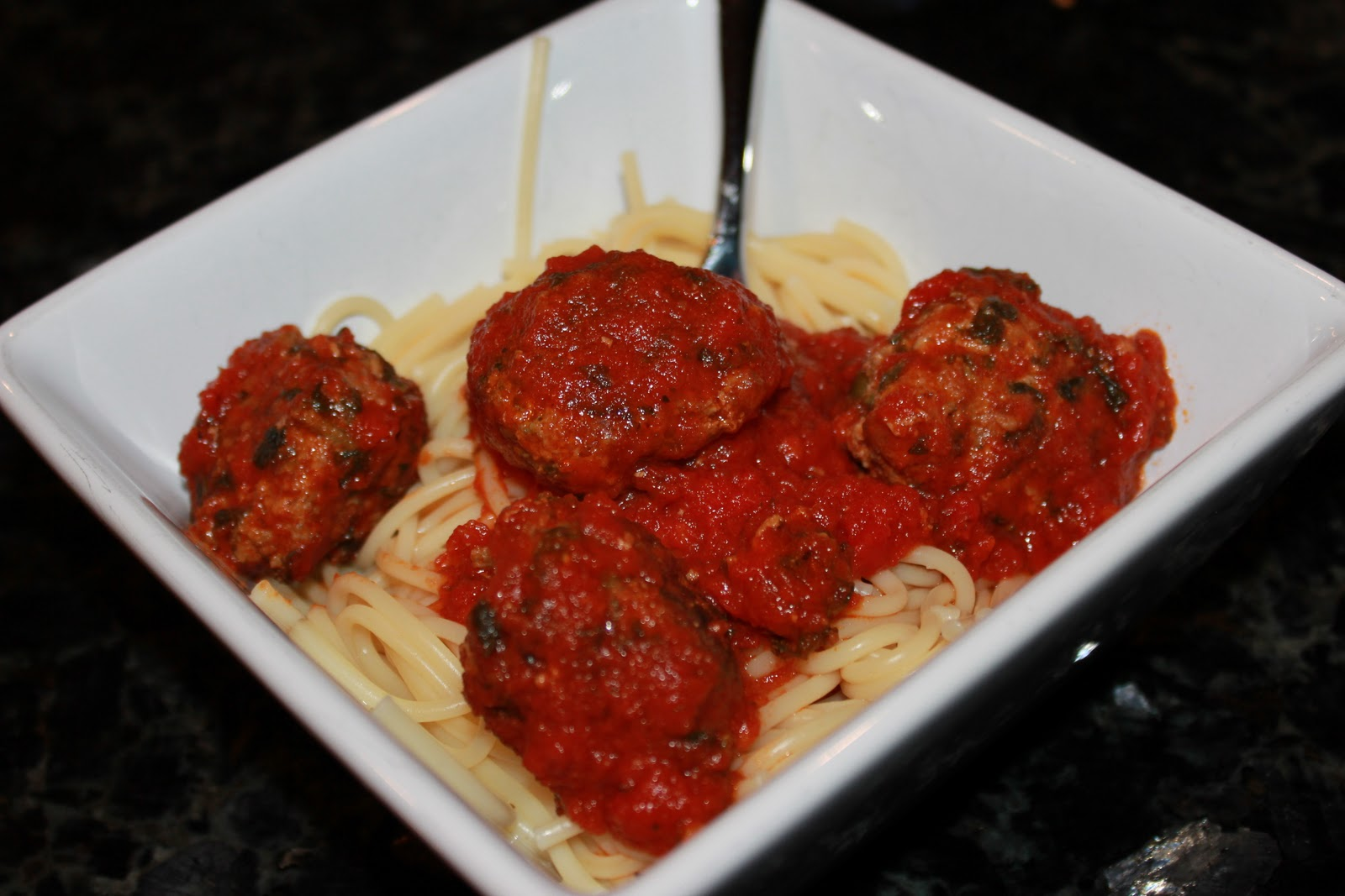 Yum Yum for the family: Skinny Italian Spinach Meatballs