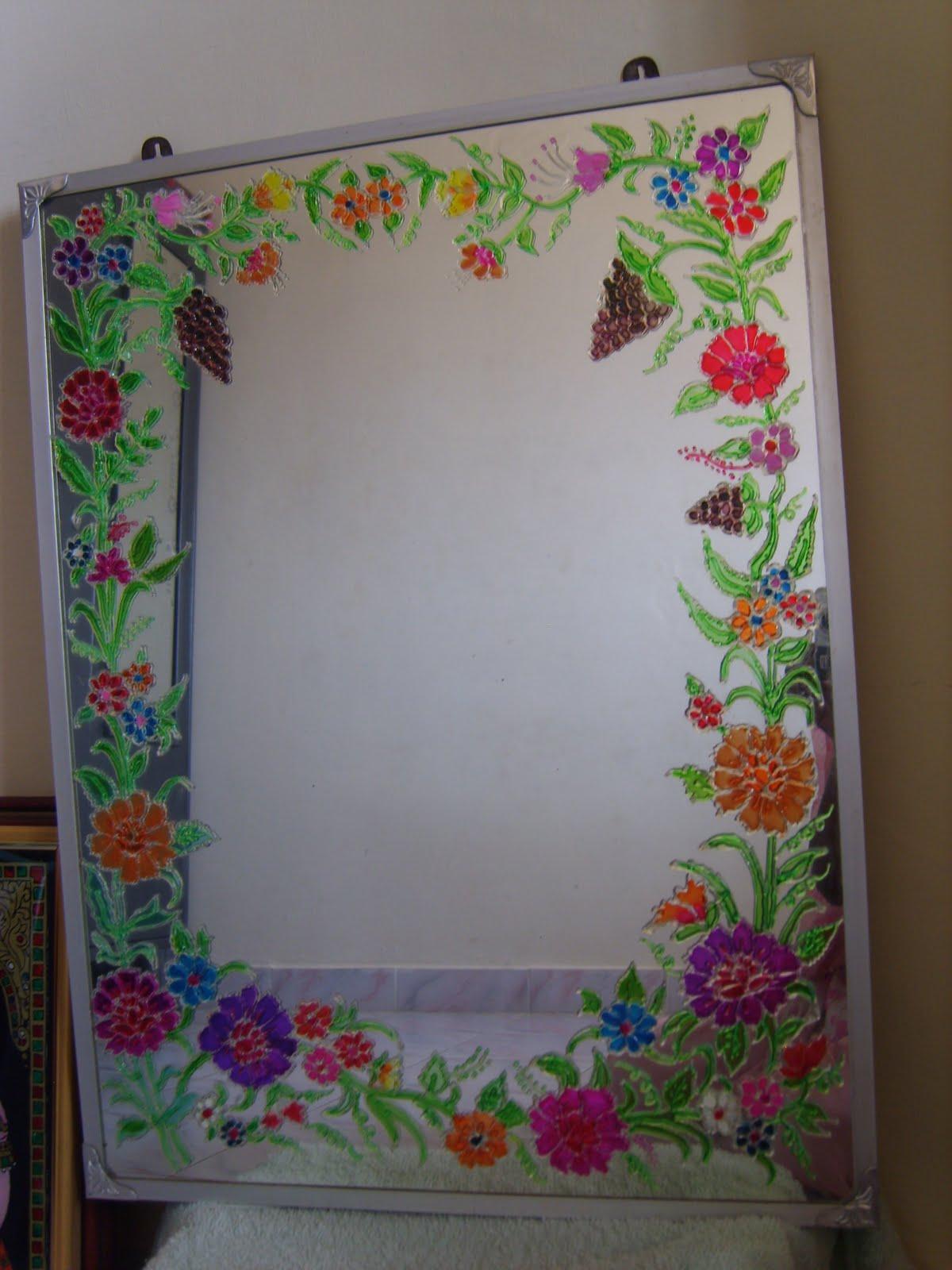 frame design glass painting designs frames