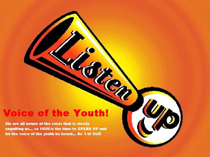 voice of the youth essay Voice of the youth online informing, inspiring, involving, and empowering the filipino youth worldwide one philprint on-the-spot essay writing competition.