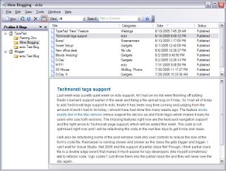 Ecto windows Blogging