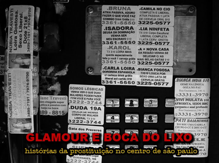 glamour e boca do lixo