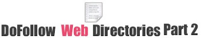 List of Dofollow Directories