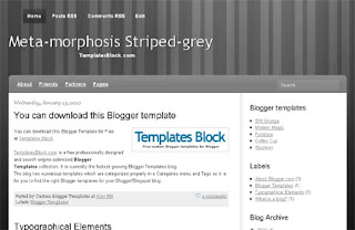 Best Blogger Templates - Meta Morphosis1