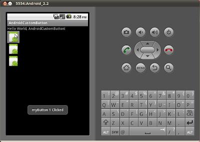 通過自定義視圖(Custom View)創建自定義按鈕(Custom Button)