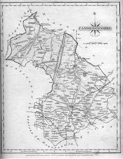 Map pf Cambridgeshire