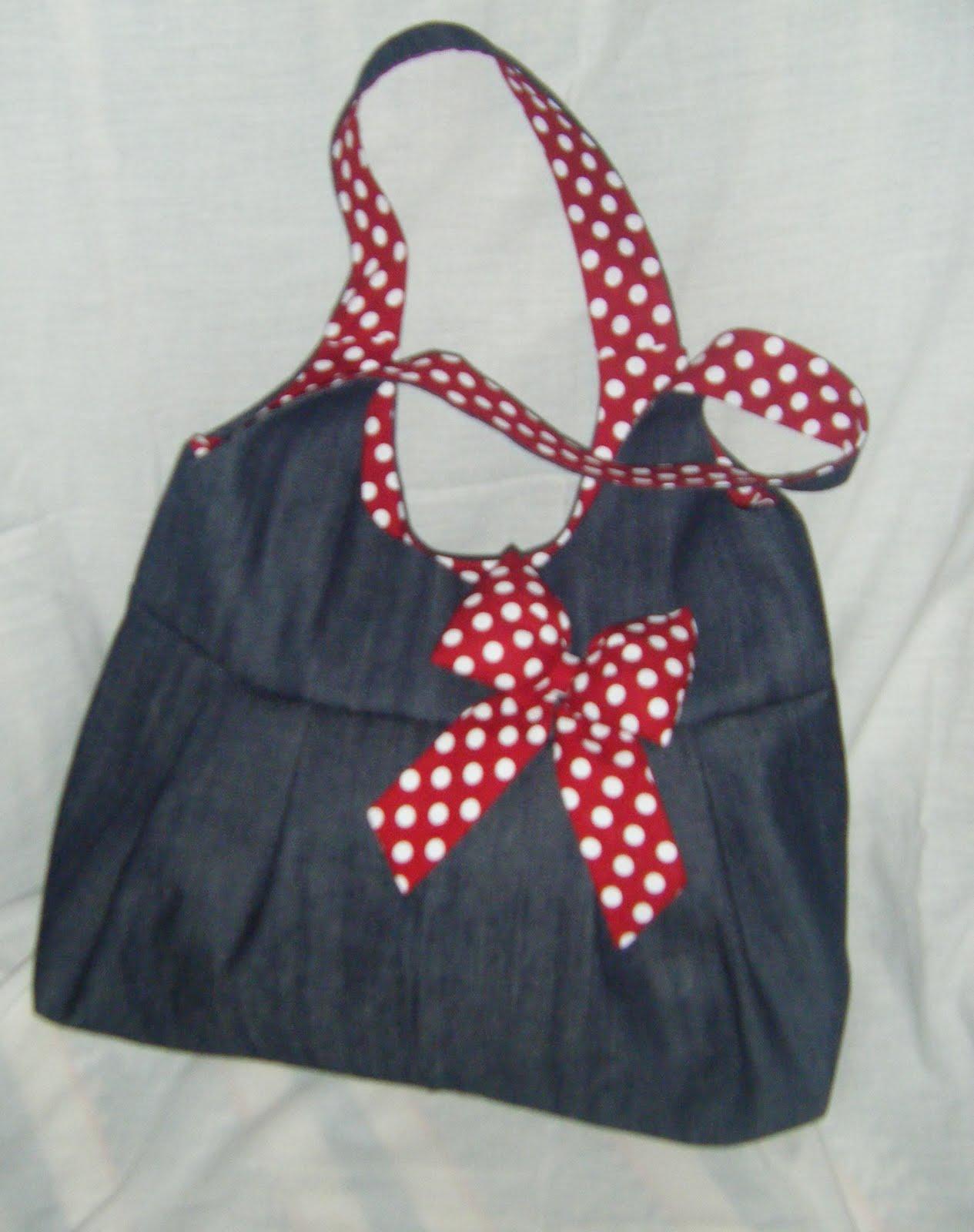 Bolsa De Tecido Jeans Passo A Passo : Telma artesanatos bolsas de tecidos artesanais