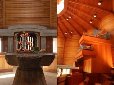 mid century inspired chapel
