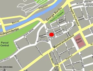 locatie pe harta