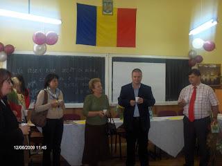 Pensionarea d-nei profesoare Silvia Popa