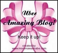 Beautiful Amazing Blog Award from Sarah Sofia...Thanks!