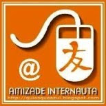"""AMIZADE INTERNAUTA"" Award from Luiza N Brazil...Thank you!"