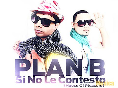 LETRA SI NO LE CONTESTO PLAN B REMIX LETRA Y VIDEO