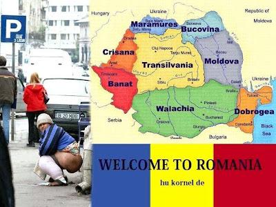 Viajando para a Romênia