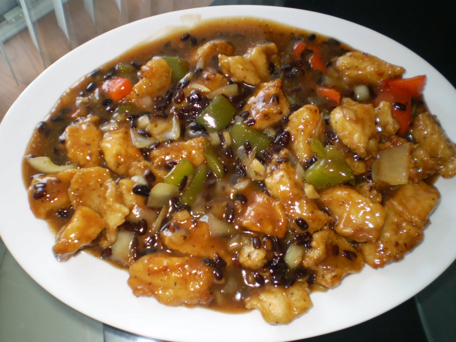 Jade 39 s magic kitchen jade 39 s fish fillet w black bean for Fish in black bean sauce