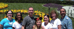 Montoya Family at Disneyland