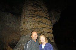 Don & Sandi in Carlsbad Caverns