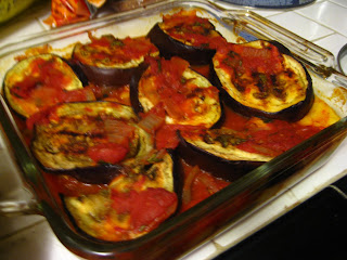 Things I Cook and Bake: Layered Eggplant and Polenta Casserole