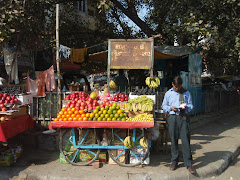 Fruit seller in NRN Market