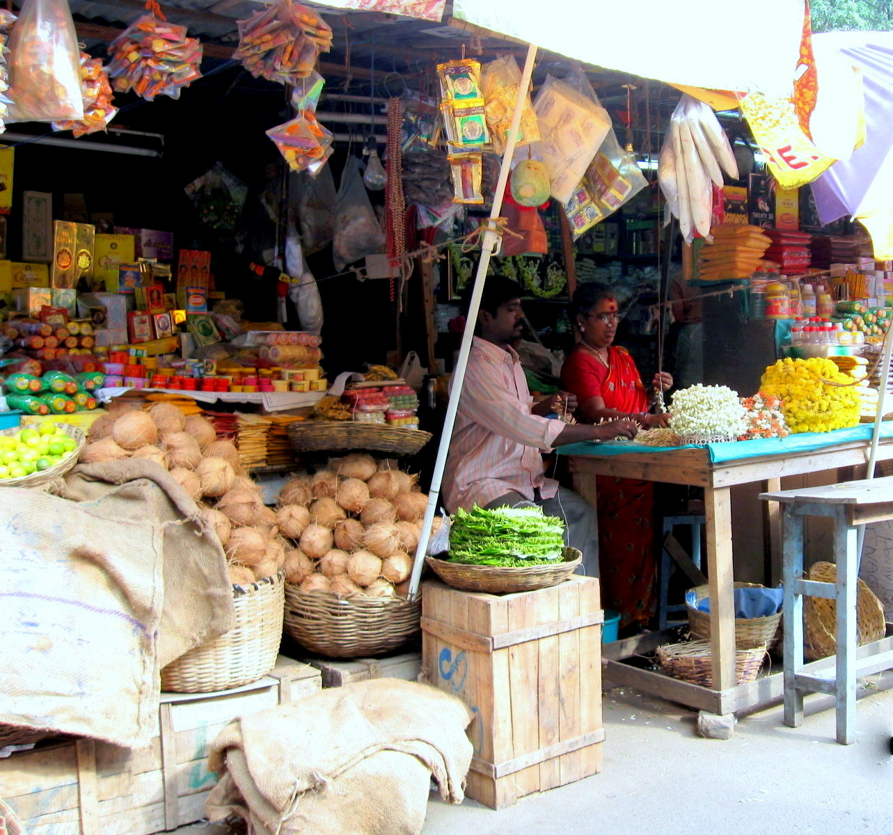 EtsyVeg: Welcome to Pondy Bazar, Chennai India