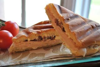 recettes  Paninis Grec