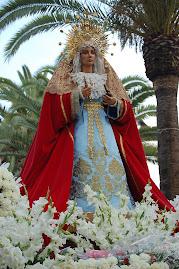 Ntra. Sra. la Reina de los Ángeles por el Paseo de las Palmeras
