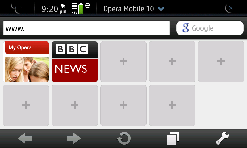 ... before then you will find the interface on the N900 very familiar