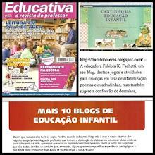 Nosso cantinho na Revista Educativa