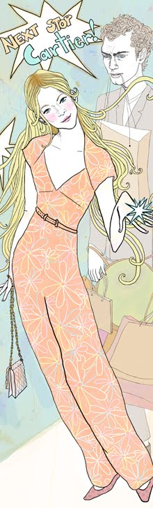 Illustration in Glamour Spain