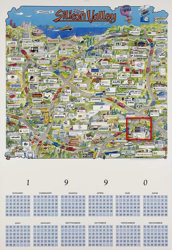 The San Jose Blog Silicon Valley Maps