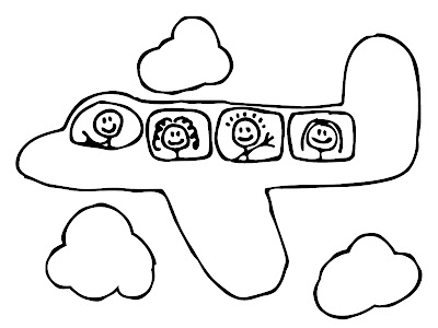 cute airplane