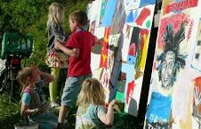 Kreative aktiviteter med børnene