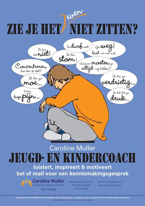 Affiche jeugdcoach middelbareschool