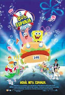 Filme Poster Bob esponja - O Filme DVDRip XviD Dublado