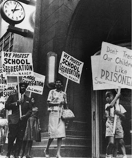 "segregated schools 1950  De facto"" Latin for"