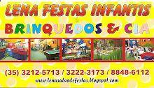 Visite também o blog Lena Salão de festas/ Brinquedo e Cia.