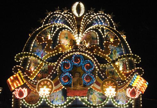 The Festivals in SriLanka: Vesak Festival
