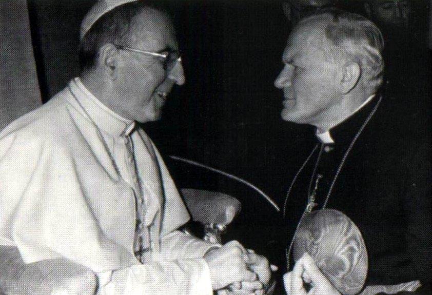 6 Degrees of Pope John Paul II: Pope John Paul I