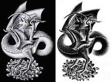 OUROBOROS, por Escher