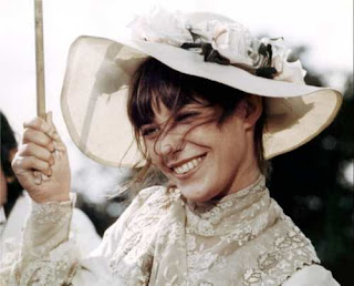 Jane Birkin in a picture hat, just to cheer us up