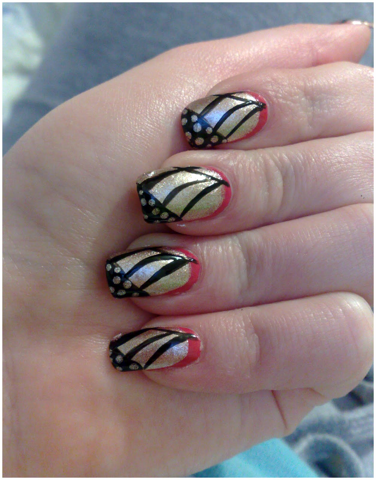 designs for short nails
