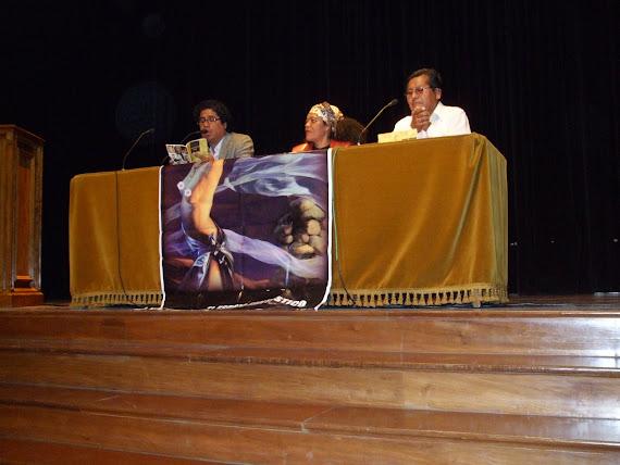 PRESENTACION DE LA ANTOLOGIA DE NOBLE KATERBA EN LA BIBLIOTECA DE SANTIAGO DE CHILE