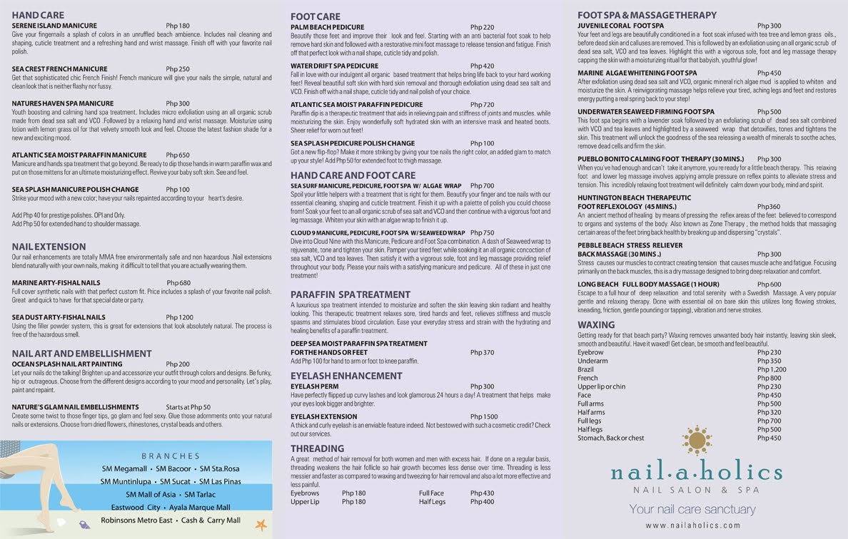 Nail A Holics Gel Polish Price – Papillon Day Spa