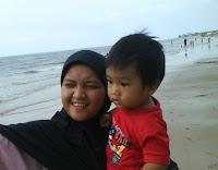 liburan, pantai, pantai manggar, balikpapan, visit indonesia year, wisata, panorama, keindahan, dinas pariwisata