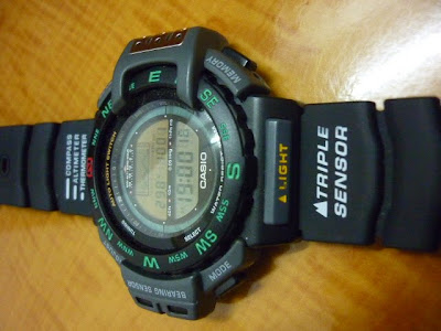 images of Koleksi Qistina Vintage Watches Casio Triple Sensor Prt 40
