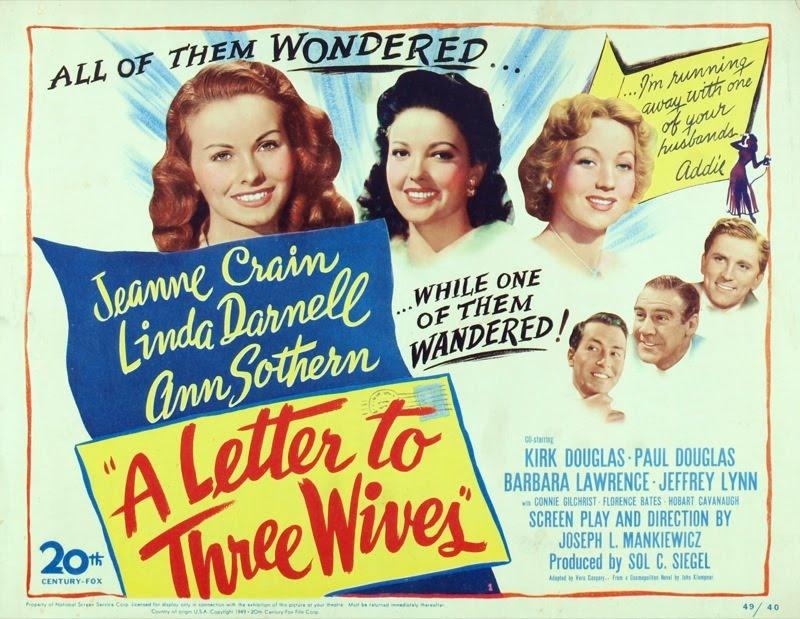 三人の妻への手紙という映画