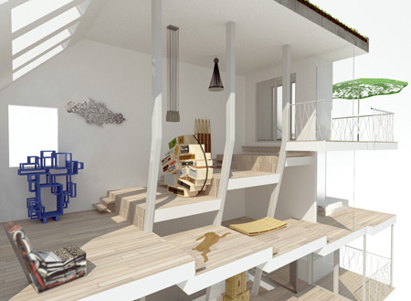 Img Kopie Droog Townhouse By Atelier Bow Wow